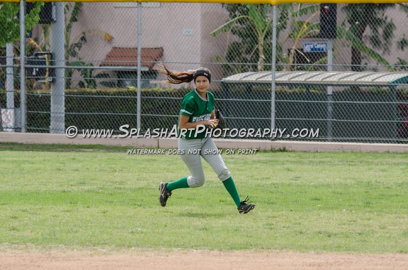 Eagle Rock Softball vs San Fernando Tigers