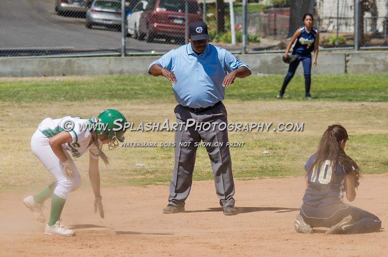 Eagle Rock Softball vs Wison Mules