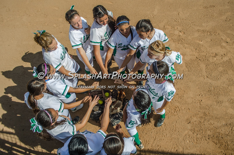 Eagle Rock Softball vs Faith Lutheran Crusaders