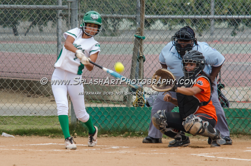 Eagle Rock Softball vs Lincoln