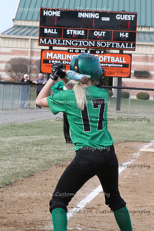 WBHS Softball at Marlington-35
