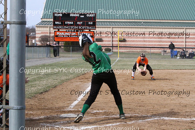 WBHS Softball at Marlington-38