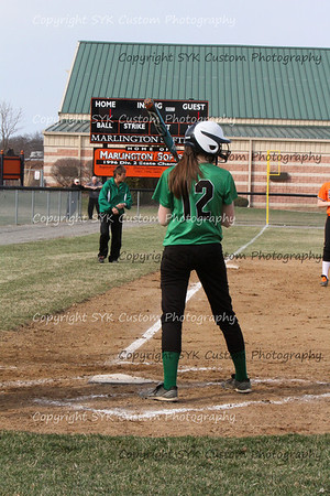 WBHS Softball at Marlington-36
