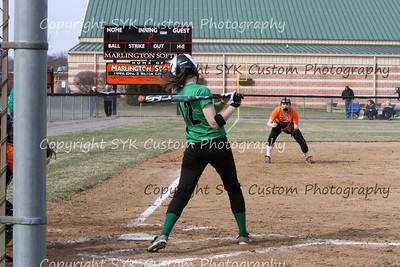 WBHS Softball at Marlington-40