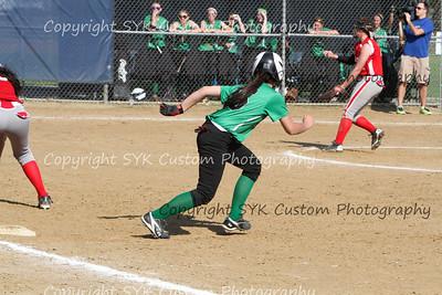 2014 WBHS Softball vs Labrae-23