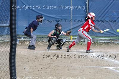 2014 WBHS Softball vs Labrae-7
