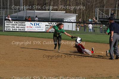 2014 WBHS Softball vs Labrae-53