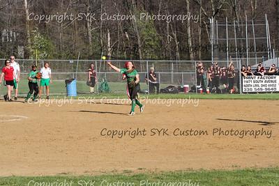 2014 WBHS Softball vs Labrae-80