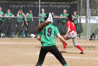 2014 WBHS Softball vs Labrae-2