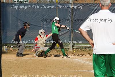 2014 WBHS Softball vs Labrae-72