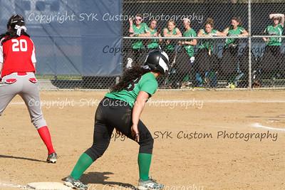 2014 WBHS Softball vs Labrae-36