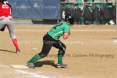 2014 WBHS Softball vs Labrae-45