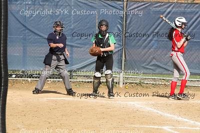 2014 WBHS Softball vs Labrae-29