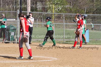 2014 WBHS Softball vs Labrae-37