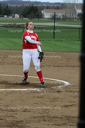 2014 WBHS Softball vs Minerva-46