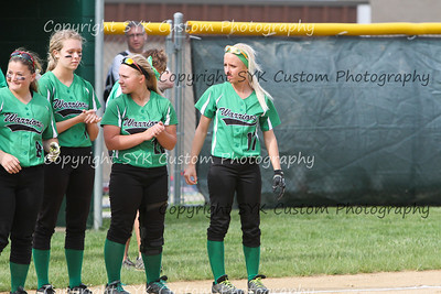 WBHS Softball vs Poland District Semi-16