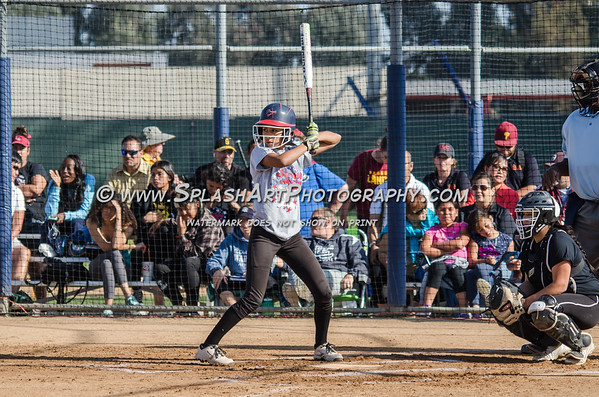 2015 City vs Valley Senior All-star Softball game