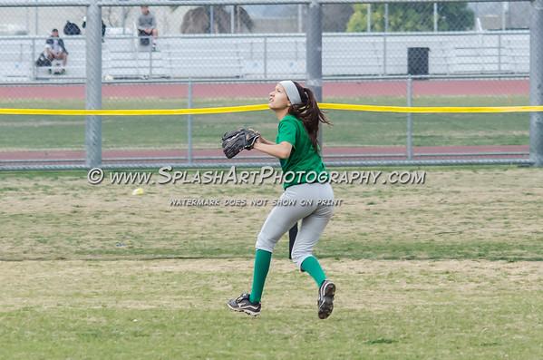 2015 Eagle Rock Softball vs Sierra Vista Dons