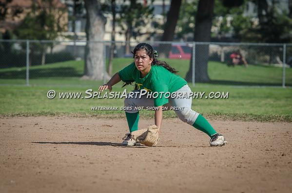 2015 Eagle Rock Softball vs South East Jaguars