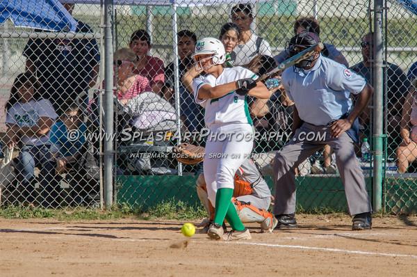 2015 Eagle Rock Softball vs Huntington Park