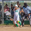 2015 Eagle Rock Softball vs Huntington Park