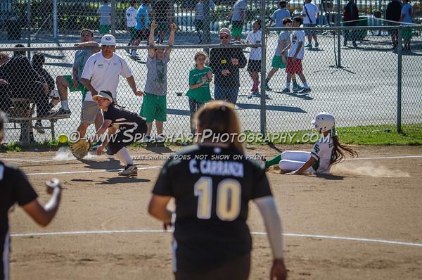 2015 Eagle Rock Softball vs Panorama Pythons