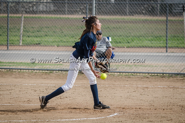 2015 Franklin Panthers Softball vs Legacy Tigers