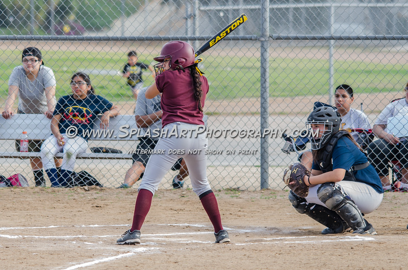 2015 Franklin Panthers Softball vs Bravo Knights