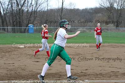 WBHS Softball at Canton South-31