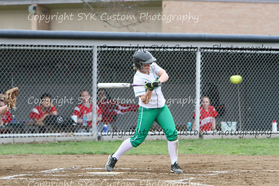WBHS Softball at Canton South-45