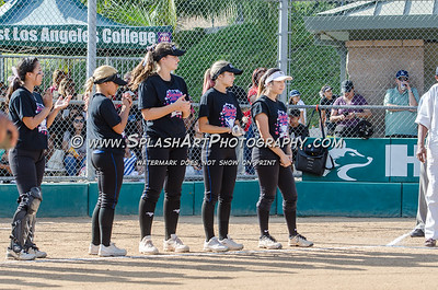 2016 Softball City vs Valley Senior All-Star Game D1 01Jun2016