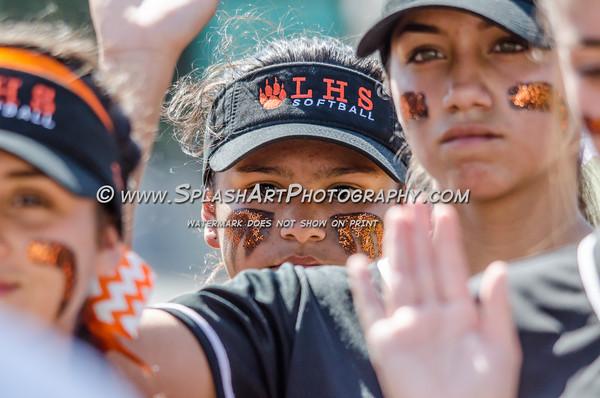 2016 Eagle Rock Softball vs Lincoln Tigers