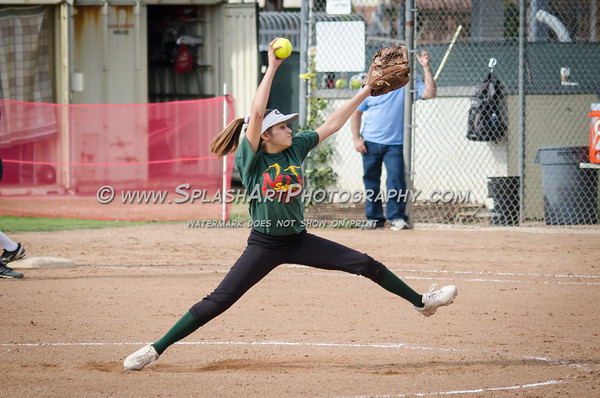 2016 Eagle Rock Softball vs El Camino Real