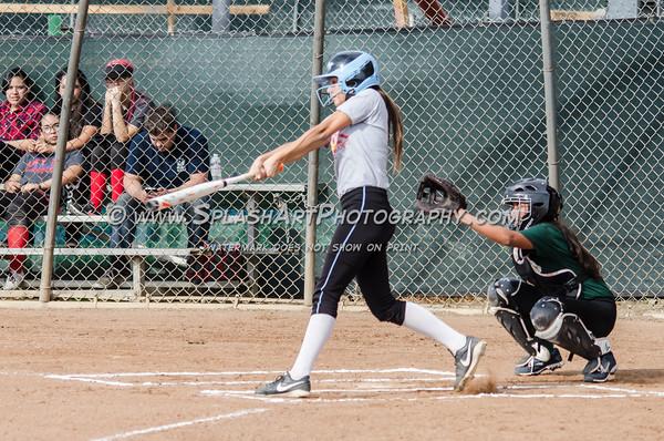 2016 Eagle Rock Softball vs El Camino Real