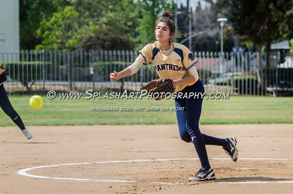 2016 Eagle Rock Softball vs Franklin Panthers