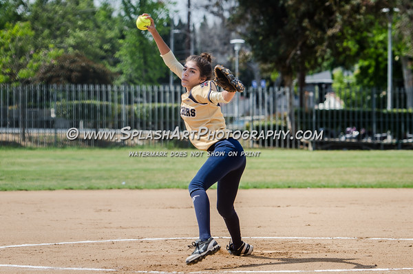 2016 Eagle Rock Softball vs Franklin Panthers