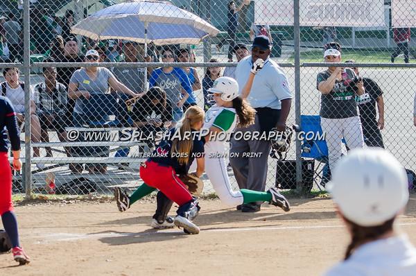 2016 Eagle Rock Softball vs Garfield Bulldogs