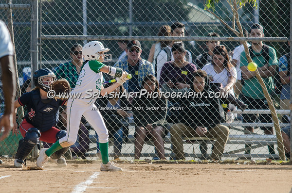 2016 Eagle Rock Softball vs Garfield Bulldogs