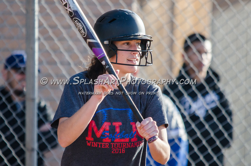 2016 Eagle Rock Softball vs Glendale Nitros
