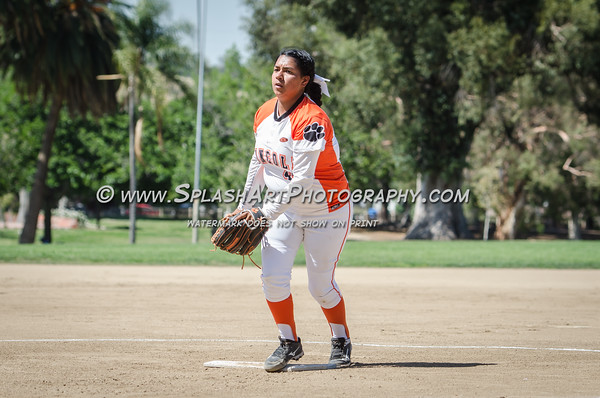 2016 Eagle Rock Softball vs Lincoln Tigers