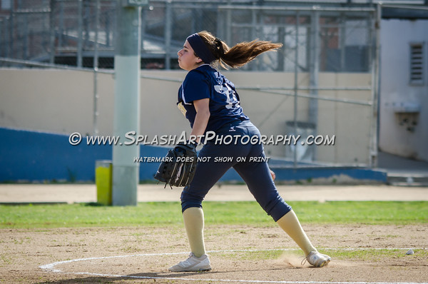 2016 Franklin Panthers Softball vs Bravo Knights