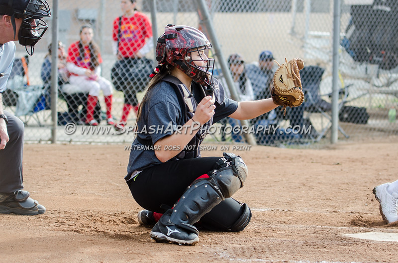 2016 Glendale Nitros Softball vs El Camino Real