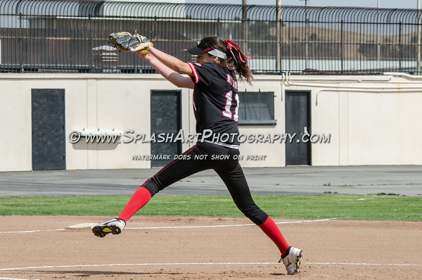 2016 Glendale Nitros Softball vs Muir Mustangs
