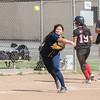 2016 Glendale Nitros Softball vs Muir Mustangs