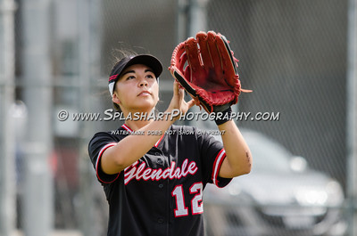 2016 Softball Glendale vs Pasadena 19Apr2016