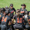 2016 Lincoln Tigers Softball vs Franklin Panthers