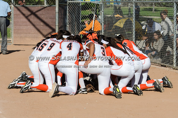 2016 Lincoln Tigers Softball vs Lassen Grizzlies