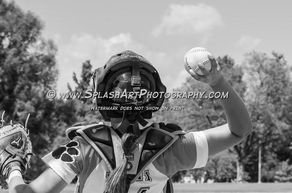 2016 Lincoln Tigers Softball vs Marshall Barristers