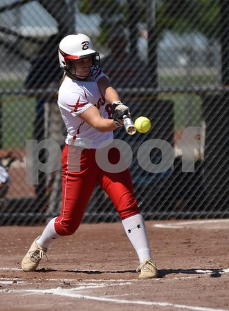 Carlisle vs Boone during 4A Semi-finals State Softball Tournament at Harlan Rogers Sports Complex on July 21, 2016