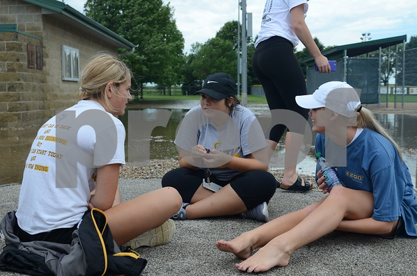 Messenger photo by Britt Kudla<br /> State Softball Tournament at Iowa Central Community College on July 19, 2016